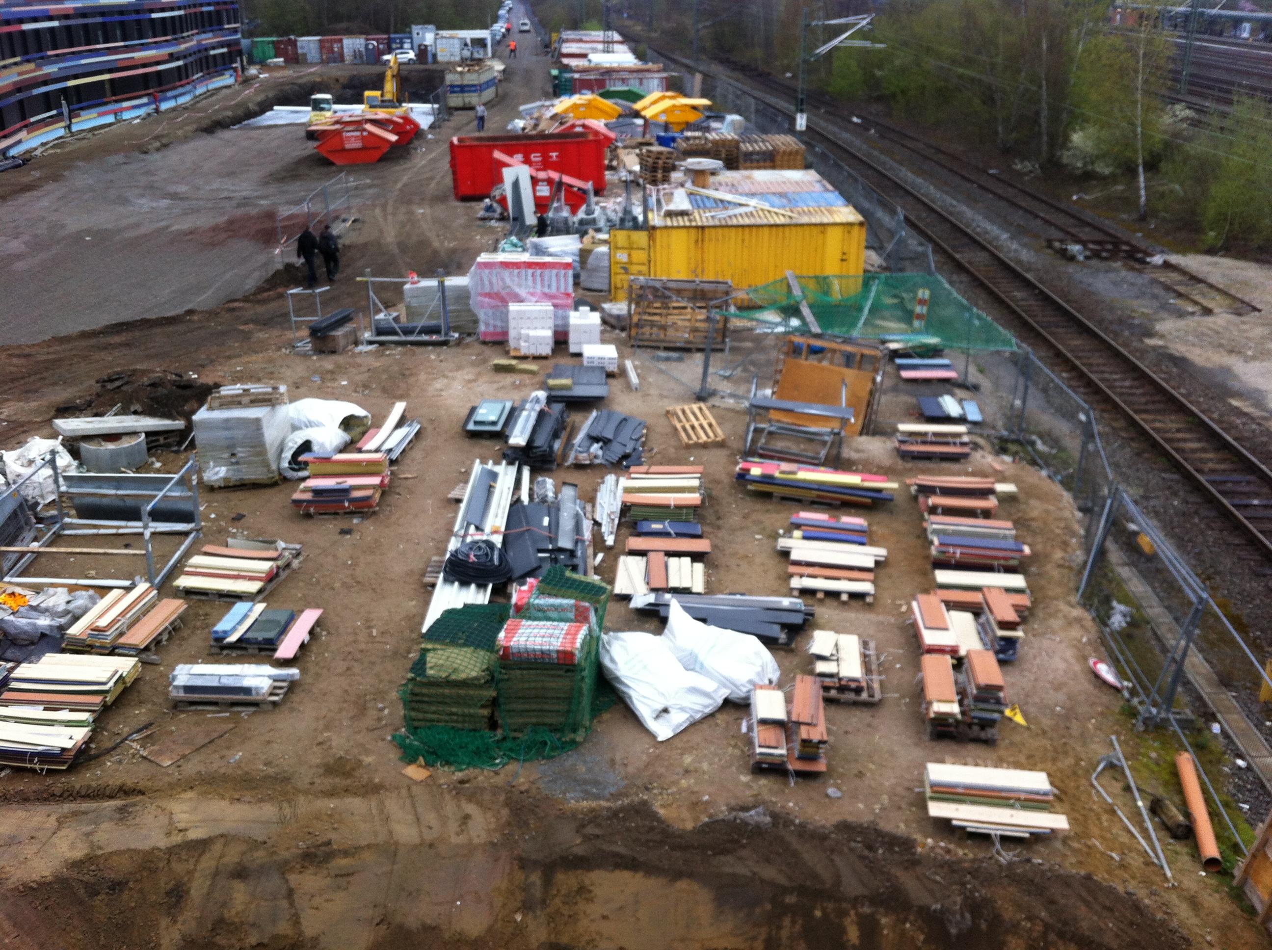 Nächster Halt: Baustelle Wilhelmsburg